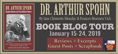 Dr. Arthur Spohn Book Blog Tour January 15-24, 2019